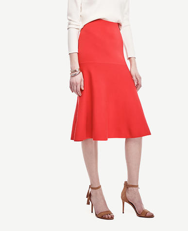 Image of Petite Drop Waist Sweater Skirt