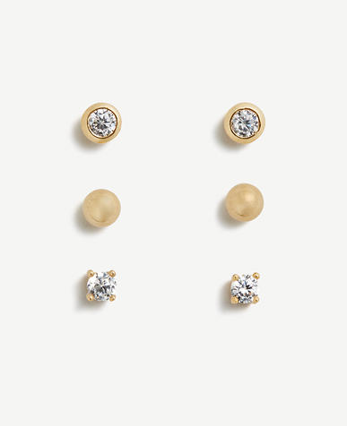 Image of Modern Stud Earrings