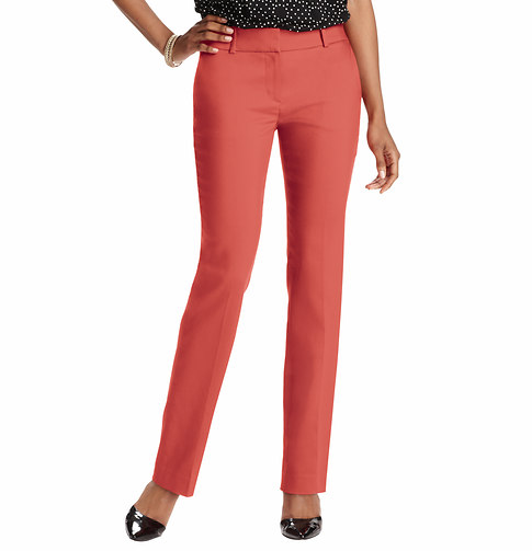 Julie Straight Leg Pants in Clean Cotton Blend