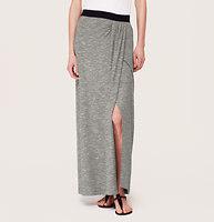 Lou & Grey Wrap Maxi Skirt