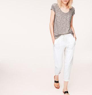Lou & Grey Zip-Pocket Pants