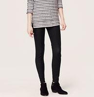 Lou & Grey Charcoal Back-Zip Leggings