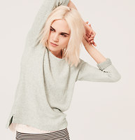 Lou & Grey Honeycomb Sweater