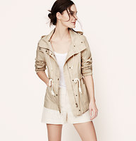 Coated Linen Cotton Jacket