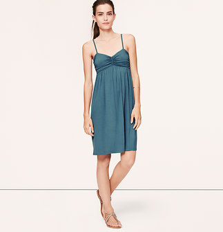 Ruched Cami Dress