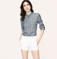 Floral Tile Softened Shirt