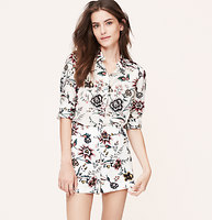 Wallpaper Floral Softened Shirt