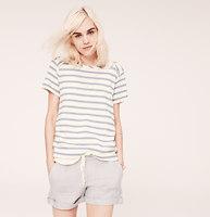 Lou & Grey Summer Stripe Sweatshirt Tee