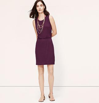 Tie Back Sleeveless Dress