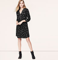 Petal Piped Shirtdress