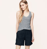Striped Sunwashed Tank