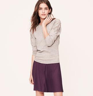 Tall Knit Circle Skirt