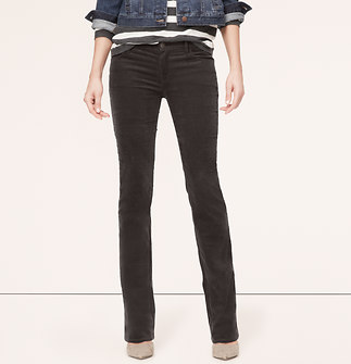 Modern Boot Cut Corduroy Pants