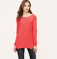 Textural Tunic Sweater