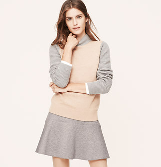 Quilted Flippy Skirt