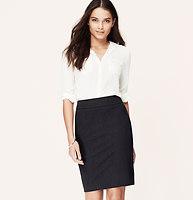 Petite Curvy Fit Custom Stretch Pencil Skirt