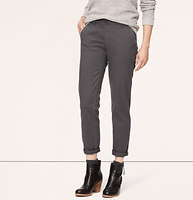 Relaxed Skinny Twill Chinos