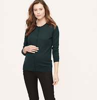 Maternity Cotton Cardigan