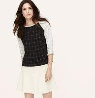Jacquard Flippy Skirt