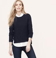Lace Edge Sweater
