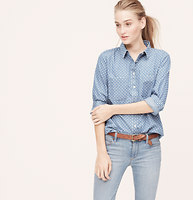 Charmed Chambray Softened Shirt