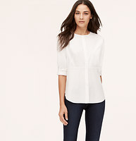Peplum Softened Shirt