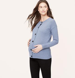 Maternity Drop Shoulder Cardigan