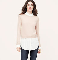 Striped Two-In-One Top