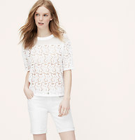 Petite Lace Blossom Tee