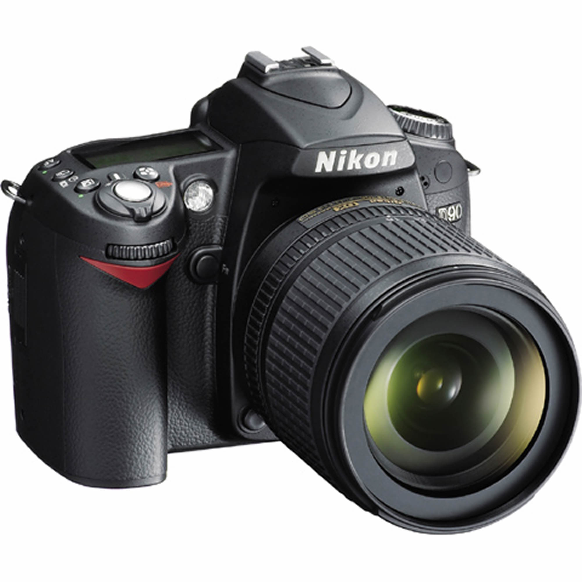 "Nikon D90 12.3MP 3"" LCD 5.8x Optical Zoom DX-Format Digital SLR Camera with NIKKOR 18-105mm VR Lens"