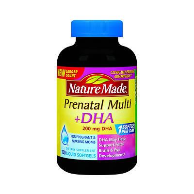 Natural made prenatal multi dha