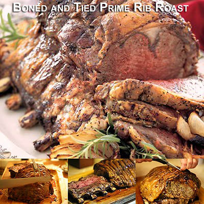 Chicago Steakhouse Premium 7-lb. USDA Prime Boned and Tied Rib Roast