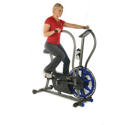 Stamina Airgometer Exercise Bike with Free Folding Equipment Mat