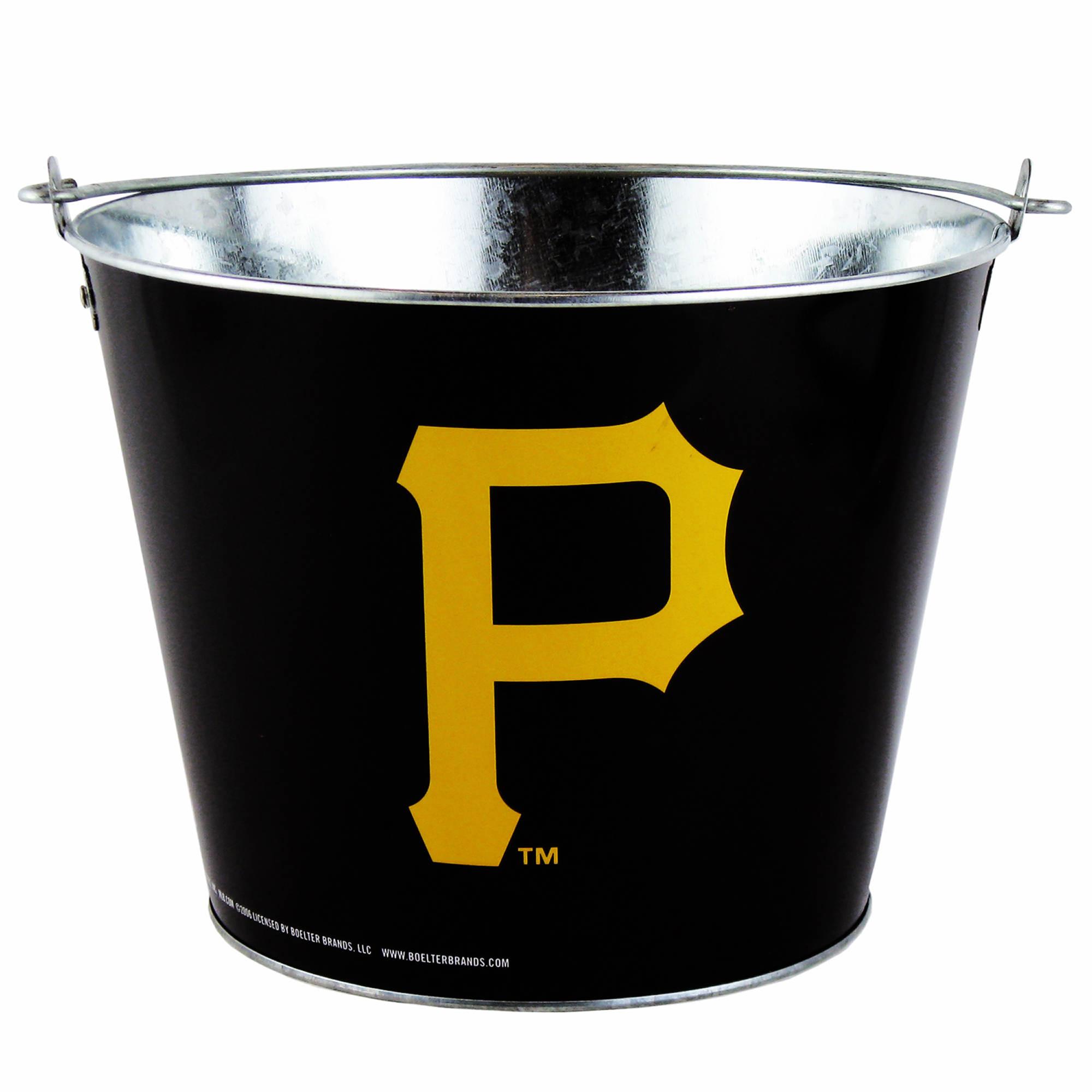 Pittsburgh Pirates 5-Qt. Full Wrap Metal Bucket
