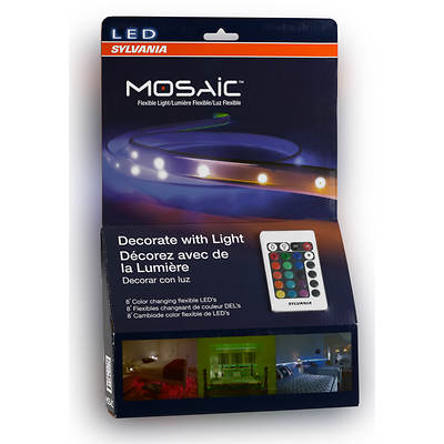 Sylvania Mosaic Color Changing LED Strip Lights, 4-Pk
