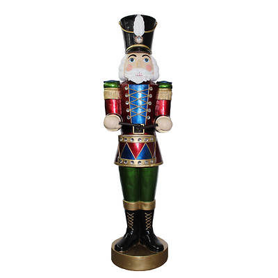 5' Musical Nutcracker with Animation and LED Lighting