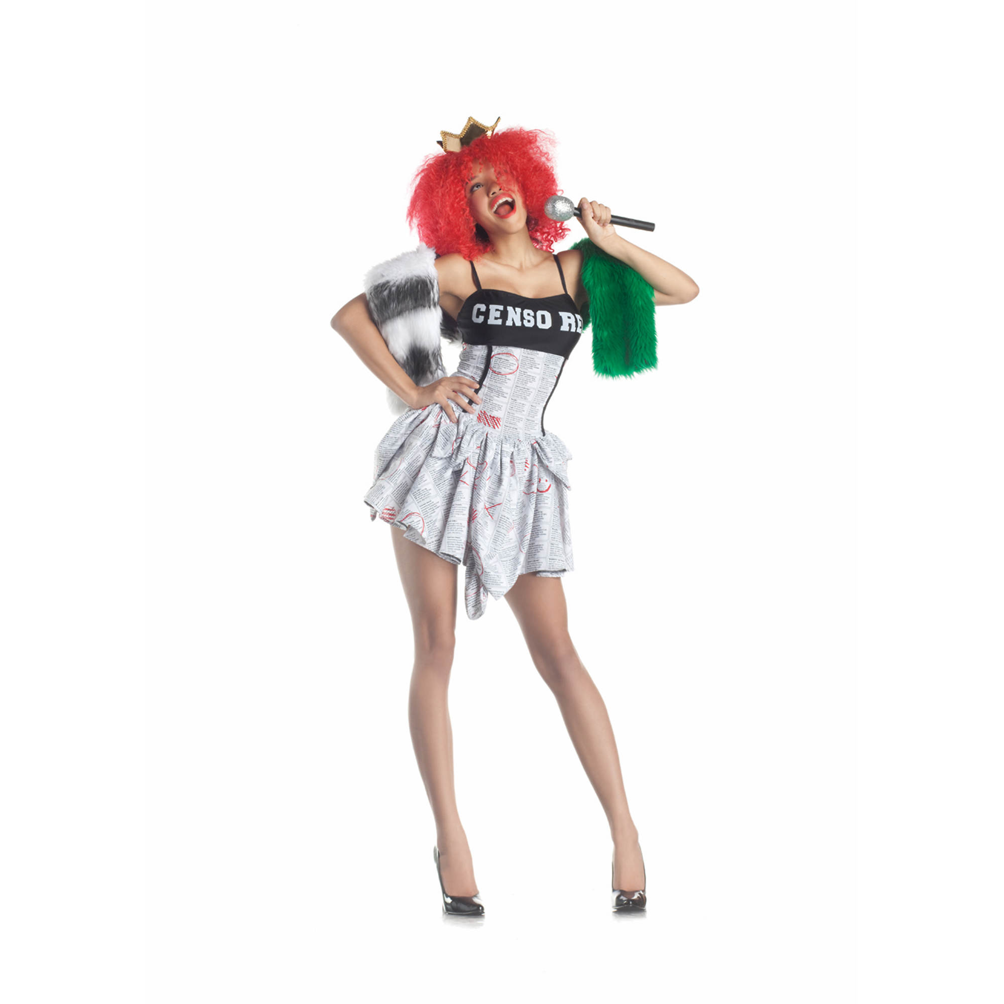 Party King Pop Star Adult Costume
