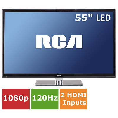 "RCA 55"" LED TV 1080p 120Hz"