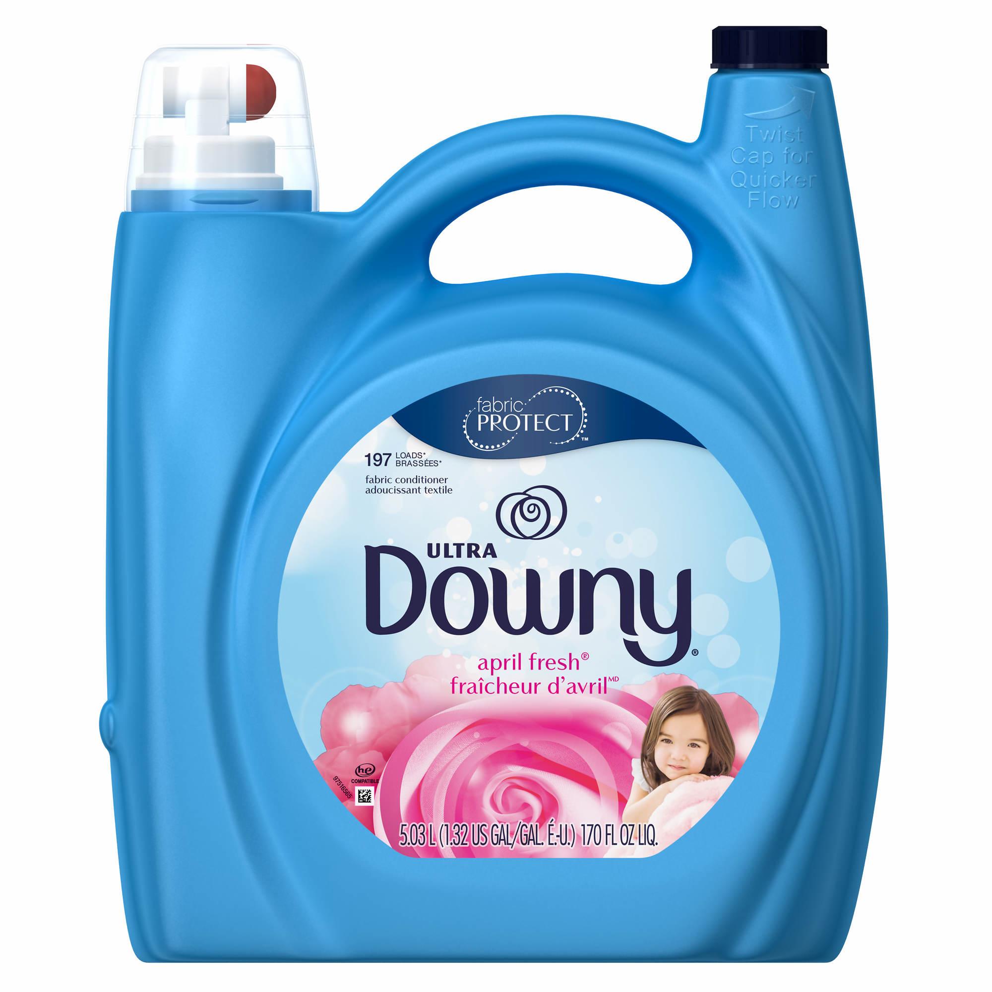 Downy April Fresh Liquid Fabric Enhancers, 170 oz.