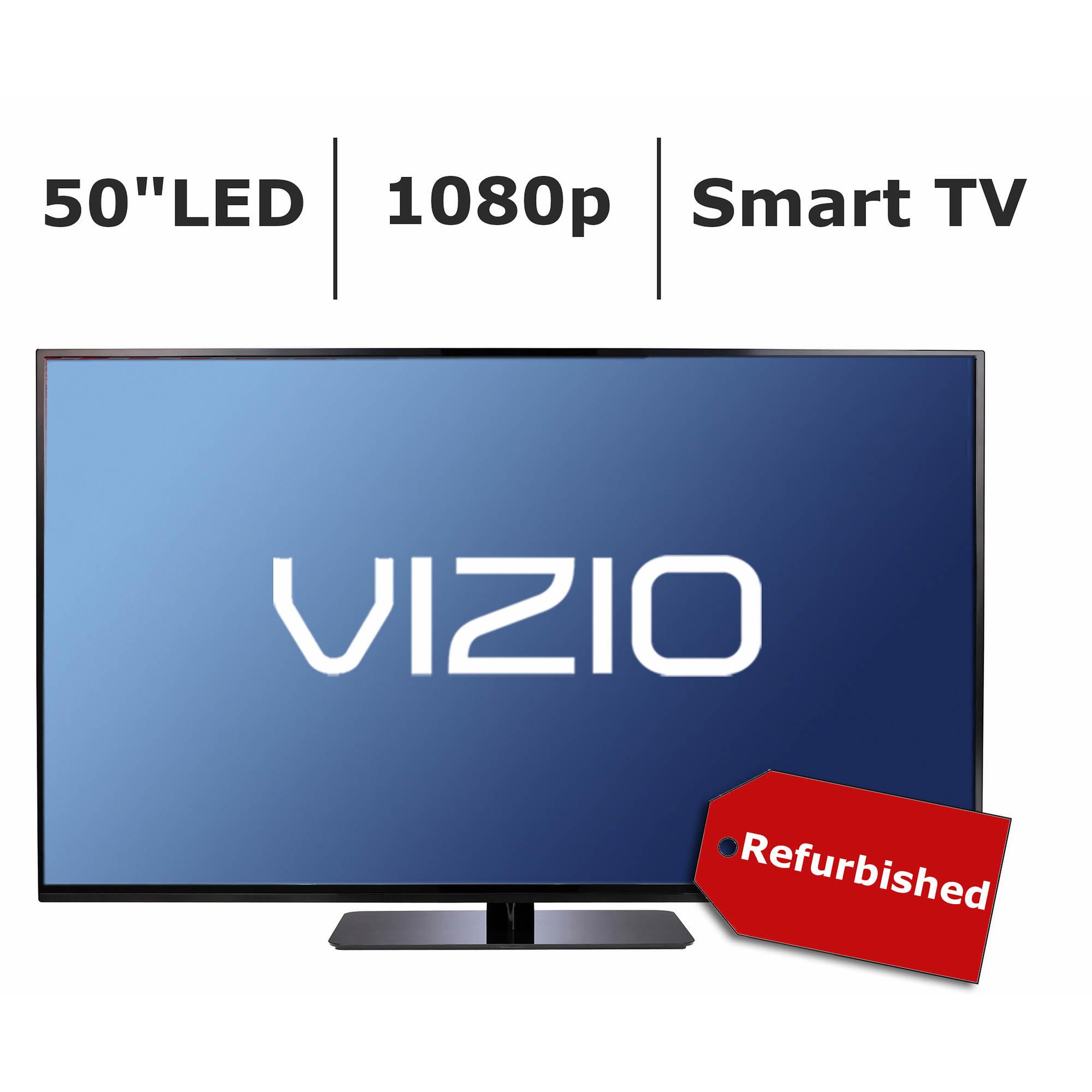 "Refurbished VIZIO E-Series 50"" 1080p Smart LED TV"