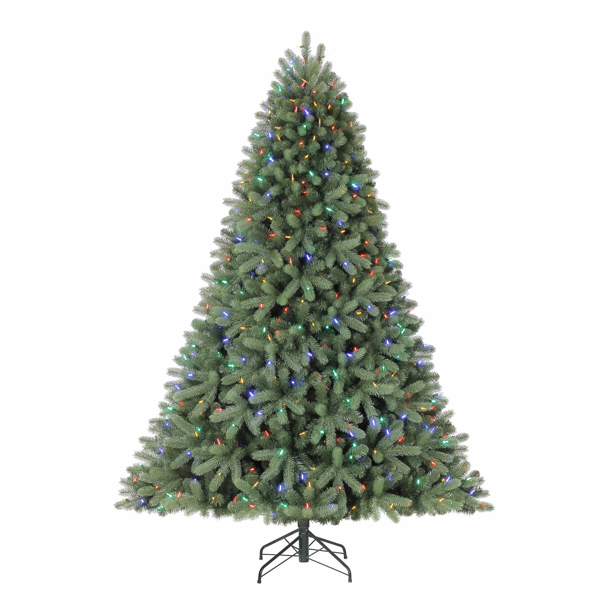 Berkley Jensen 7.5' Color-Changing LED Christmas Tree