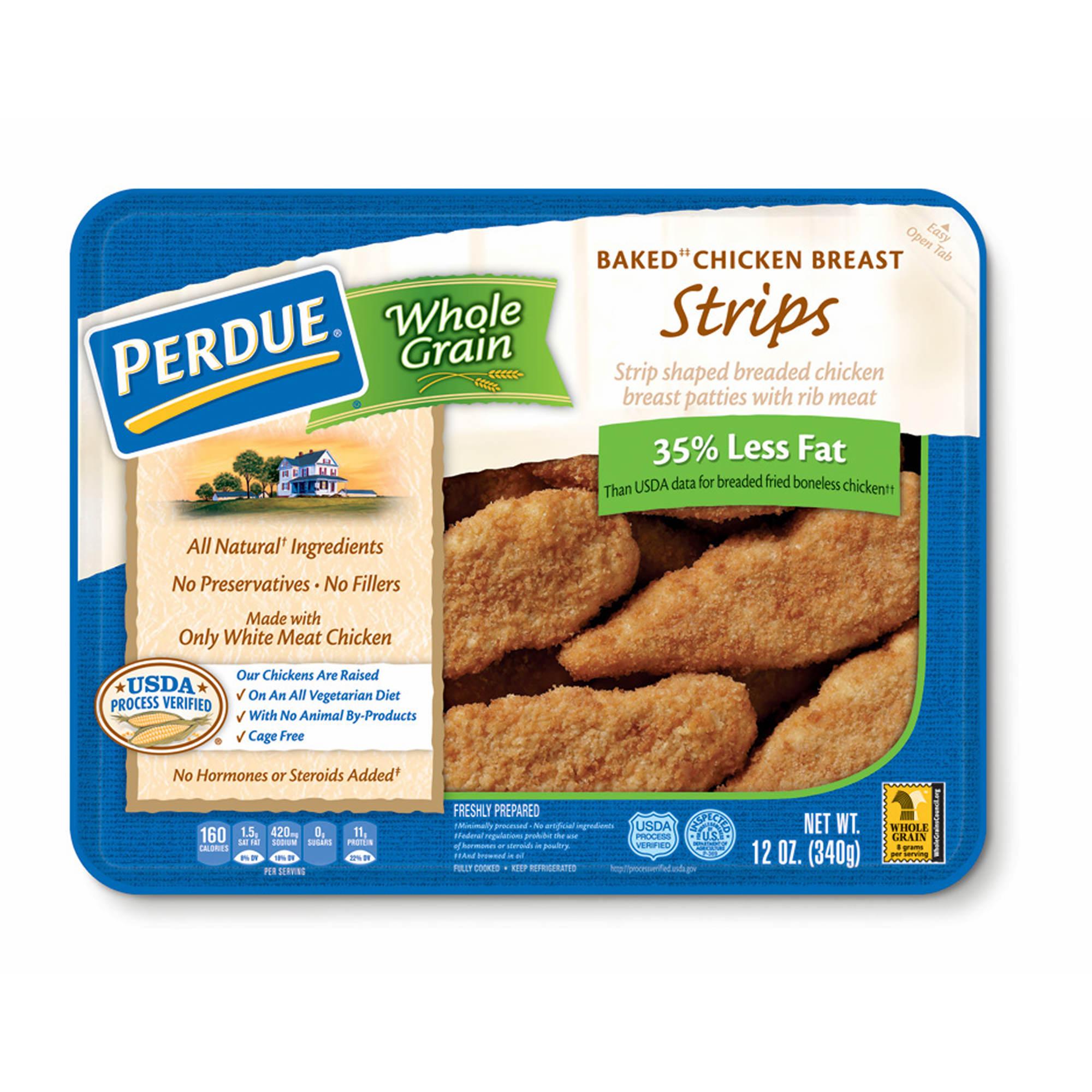 Perdue Whole Grain Breaded Chicken Breast Strips, 12 oz., 3 pk.