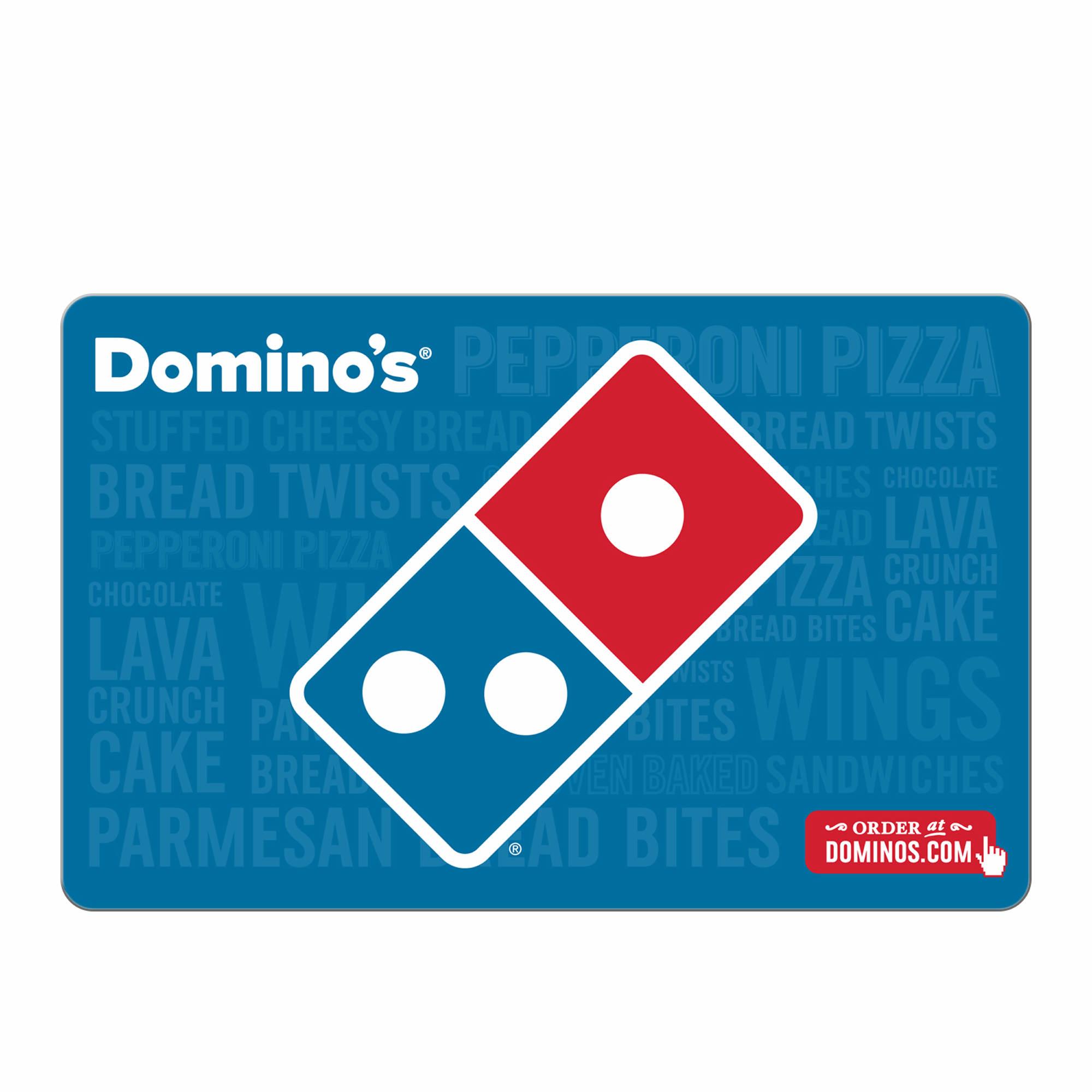 $15 Domino's Pizza Gift Card, 3 pk.
