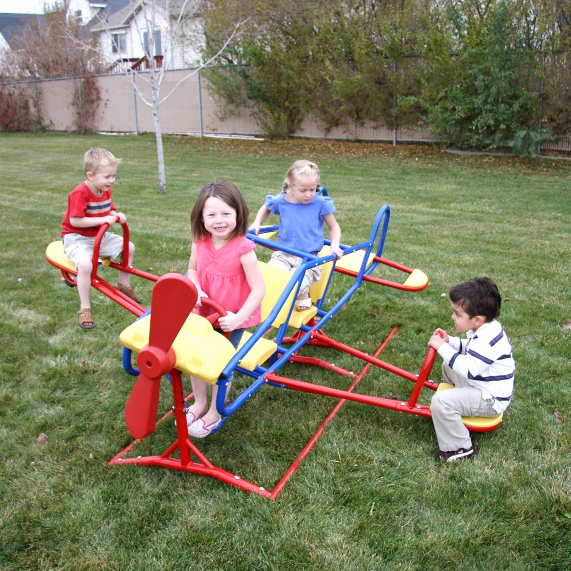 Lifetime Ace Flyer Airplane Double Teeter-Totter - Primary