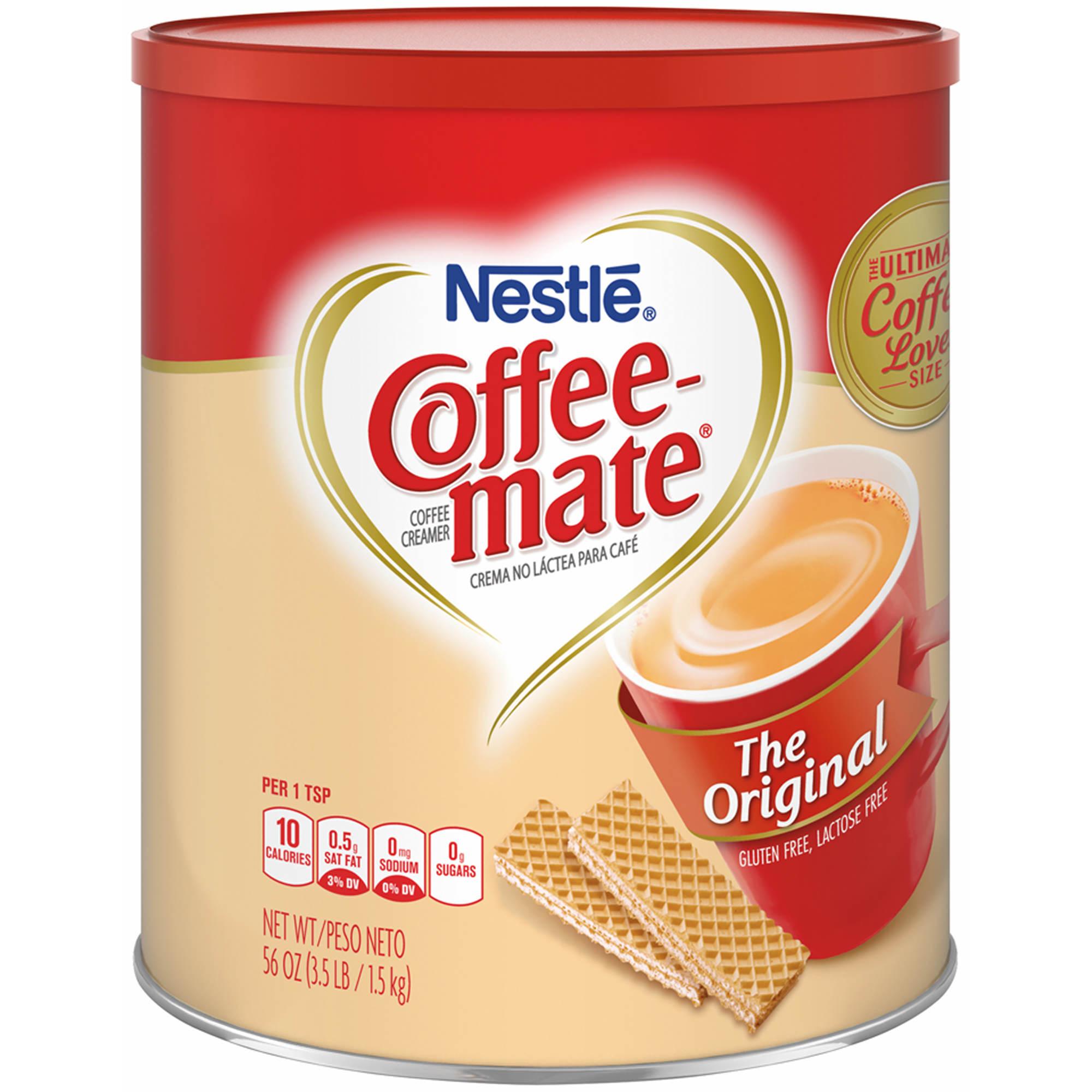 Carnation CoffeeMate Non-Dairy Creamer, 56 oz.