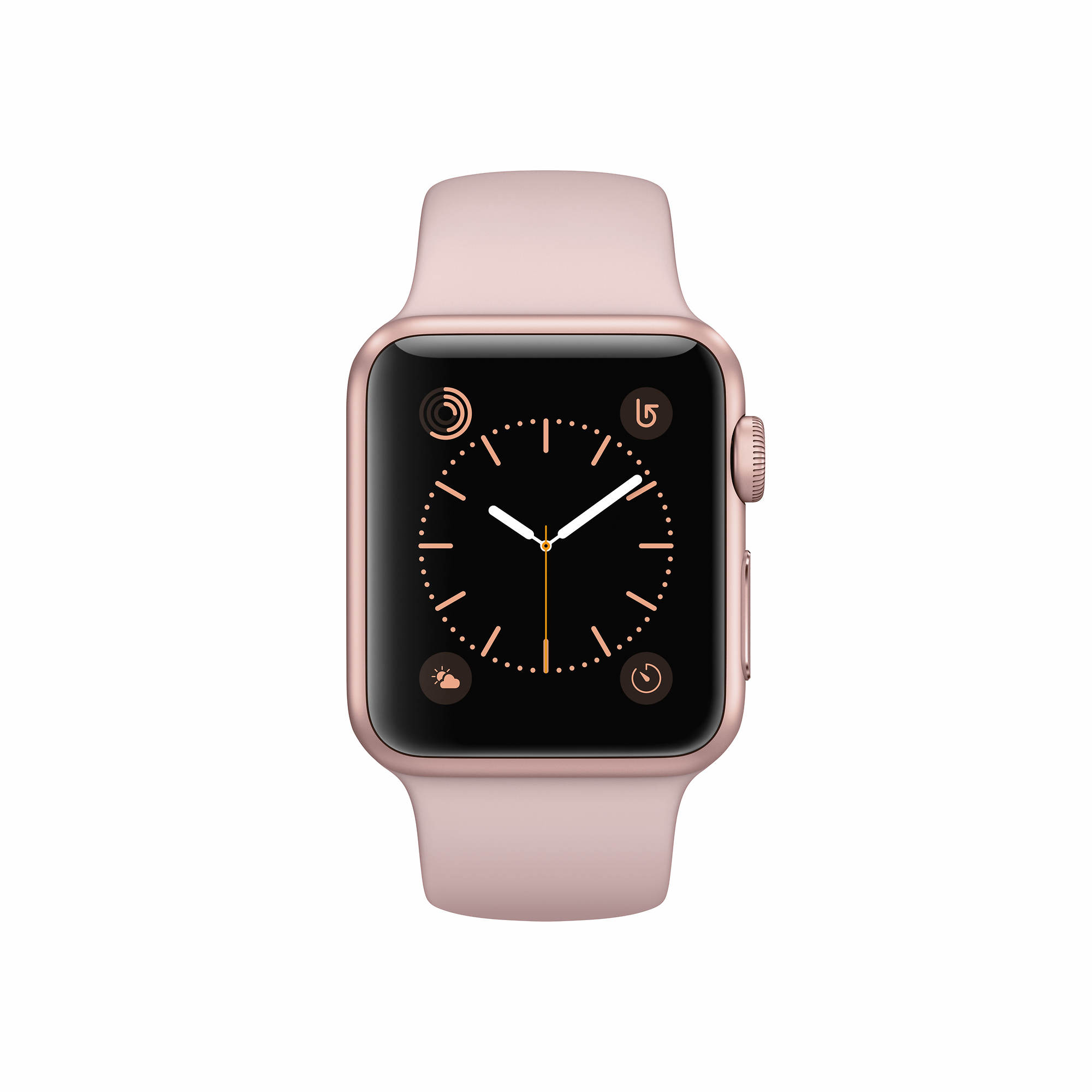 Apple Watch Series 1 with Rose Gold Aluminum Case, 38mm - Pink Sand Sport Band