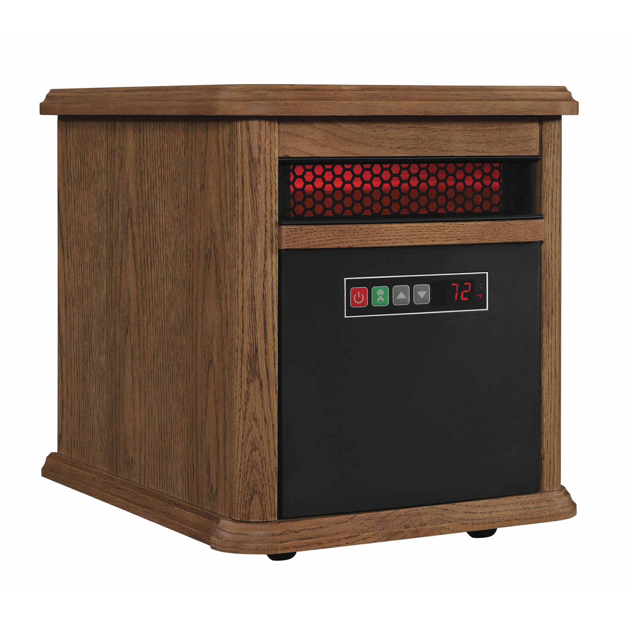 Duraflame 5,200-BTU Portable Electric Infrared Quartz Heater - Oak