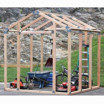 Shelter It Ez Framer 7 X 8 Shed Framing Kit Bj S
