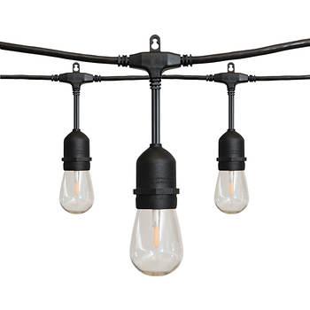 alpan 36 39 edison style led string lights bj 39 s wholesale club. Black Bedroom Furniture Sets. Home Design Ideas