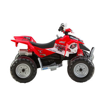Peg Perego Polaris Outlaw Red Motorized ATV - BJ\'s Wholesale Club